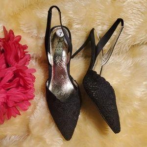 Adrianna Papell  black heels